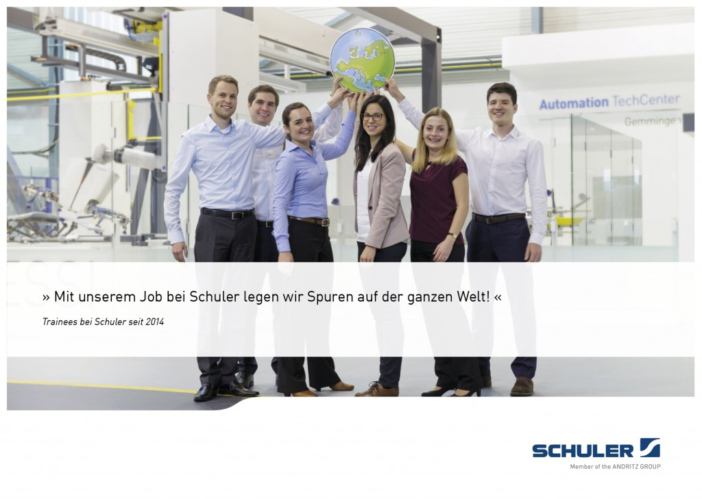 Referenz Schuler Trainees
